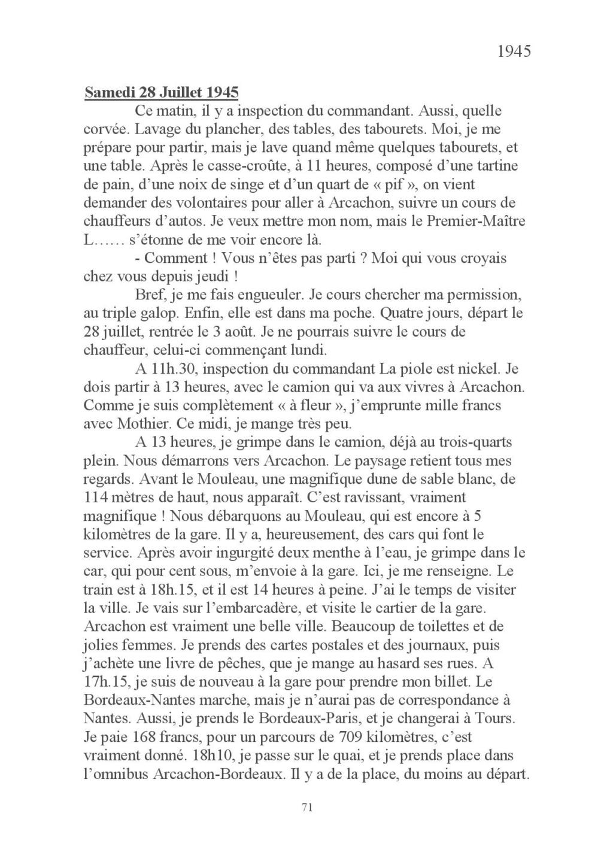 [ Histoires et histoire ] Mon oncle Georges Le Brazic - Carrière Marine, du Maquis à l'Indochine de 44 à 48 Livre_85