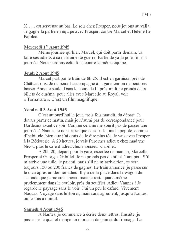 [ Histoires et histoire ] Mon oncle Georges Le Brazic - Carrière Marine, du Maquis à l'Indochine de 44 à 48 Livre_90