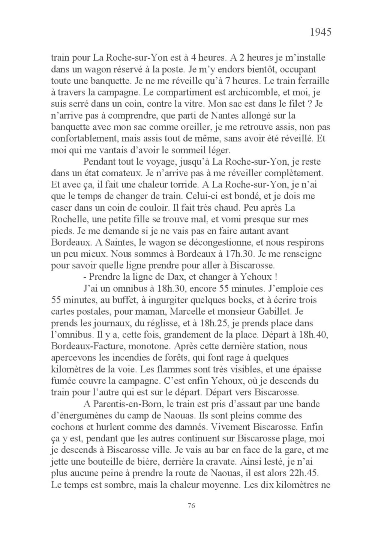 [ Histoires et histoire ] Mon oncle Georges Le Brazic - Carrière Marine, du Maquis à l'Indochine de 44 à 48 Livre_91