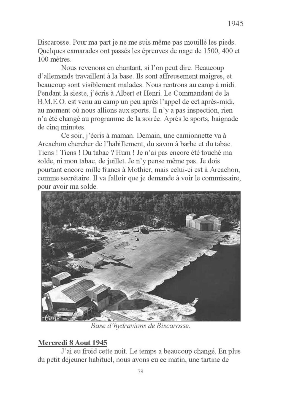 [ Histoires et histoire ] Mon oncle Georges Le Brazic - Carrière Marine, du Maquis à l'Indochine de 44 à 48 Livre_93