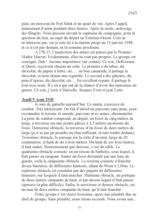 [ Histoires et histoire ] Mon oncle Georges Le Brazic - Carrière Marine, du Maquis à l'Indochine de 44 à 48 Livre_94