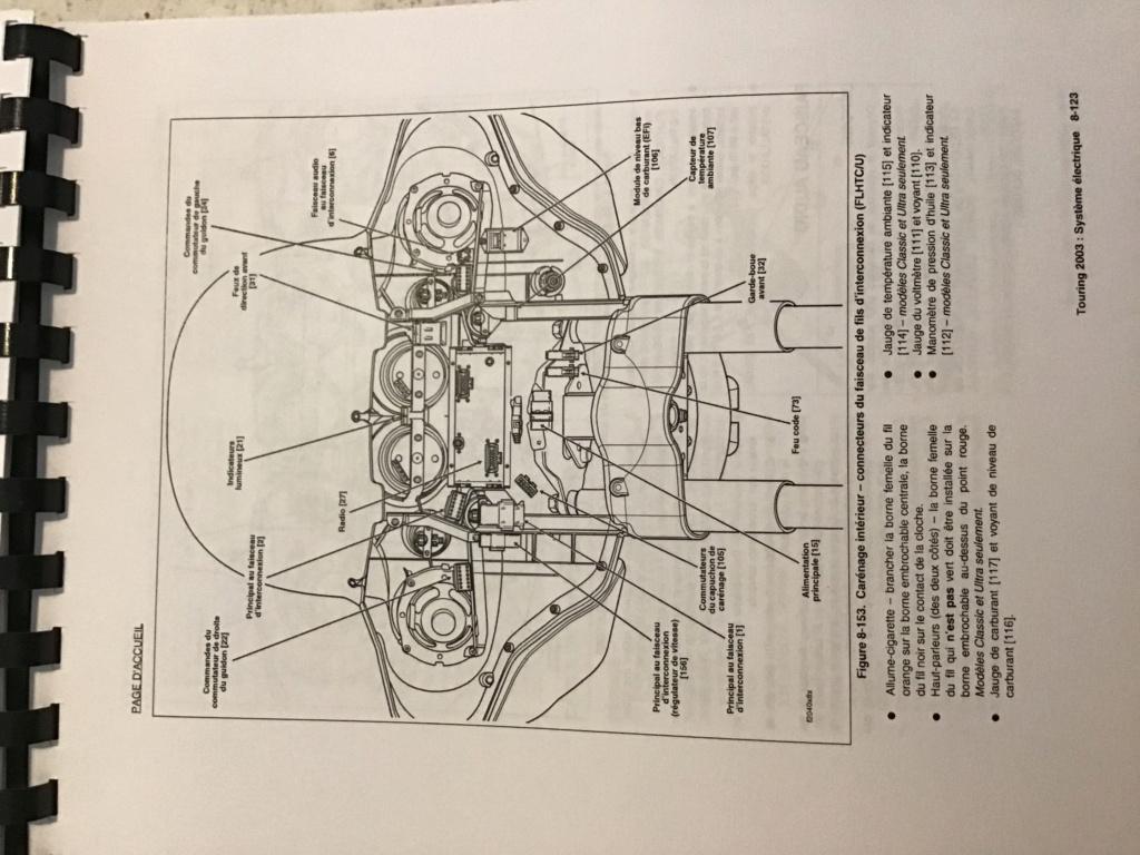 Branchement Haut parleur et bouton Electra glide 2003 63ffe810