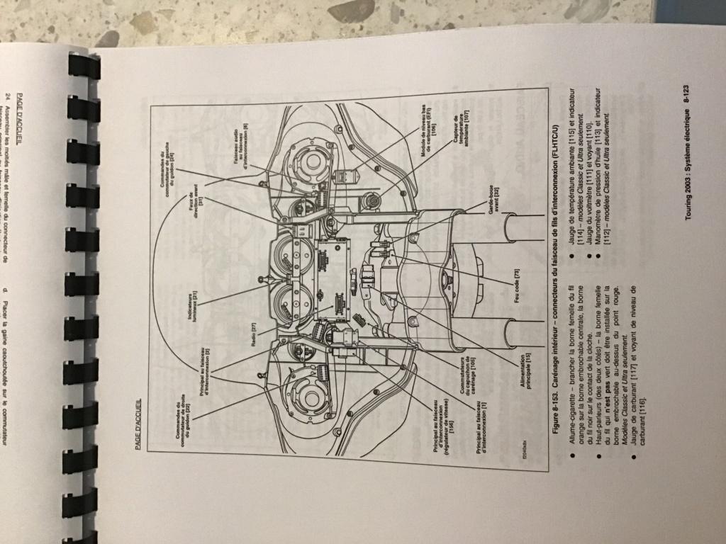Branchement Haut parleur et bouton Electra glide 2003 7e0f8010