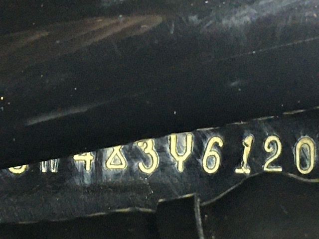 Recherche plaque á froid sur Electra ULTRA 2003 USA 9c973f10