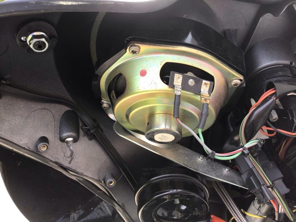 Branchement Haut parleur et bouton Electra glide 2003 D3672a10