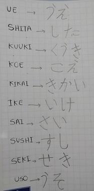 *CLASE 6* Hiragana filas K y S (puedes ganar PS) K_s11