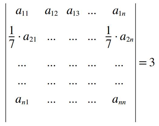 (AFA) Matriz e Determinantes 1130