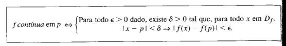 Demonstração de continuidade a partir da definição Scree111
