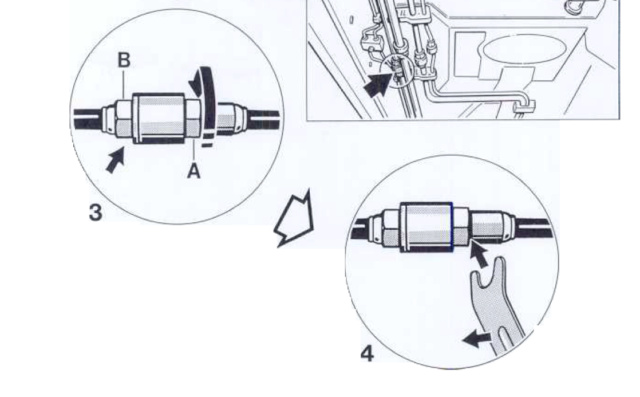 Changement tuyau hydraulique embrayage  Captur10