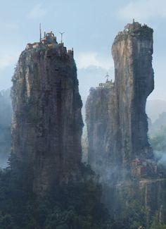 """Campagne médiévale fantastique, """"Aventures dans l'empire Zhong Hoo ou la géopolitique du dragon"""" Villag10"""