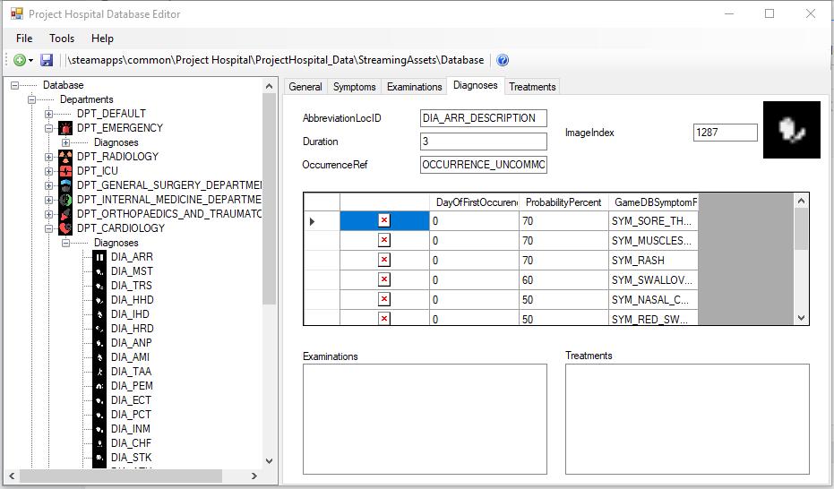 PH Database Editor Diagno10