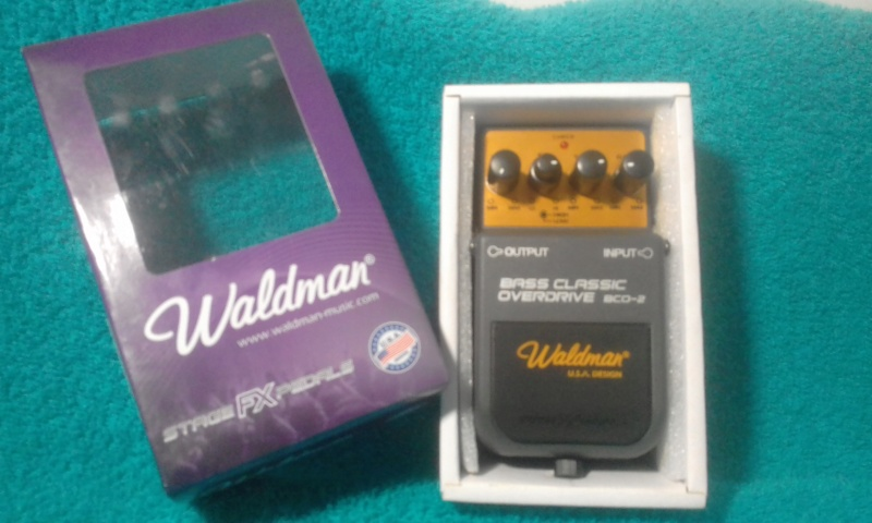 Bass Classic Overdrive (BCO-2) - Waldman 20190312
