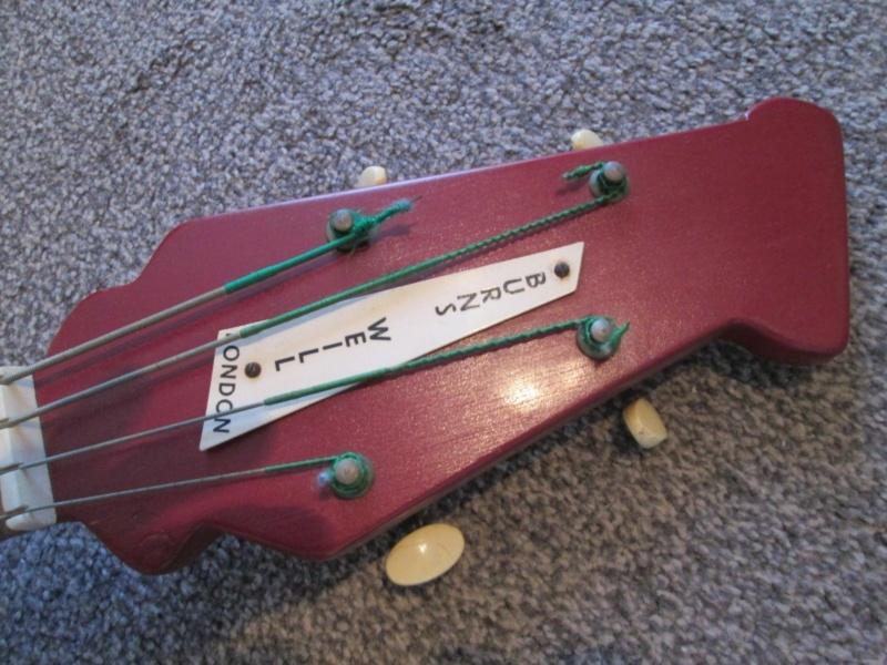 Burns Weill RP2G Super Streamline Bass.  Burns_13