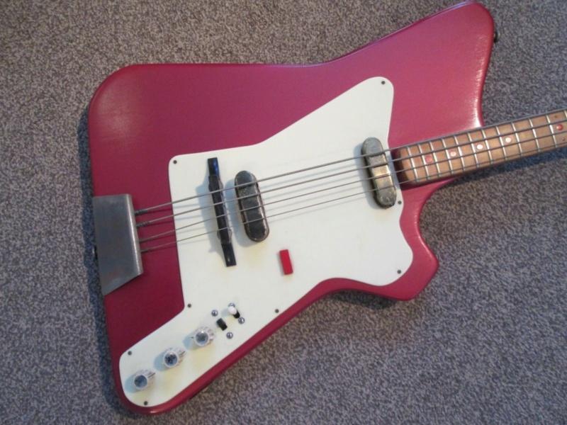 Burns Weill RP2G Super Streamline Bass.  Burns_14
