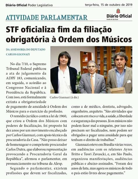 Audiência pública pelo fim da Ordem dos Músicos do Brasil (OMB) na Assembleia Legislativa de São Paulo Fb_img17