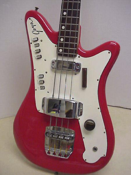 Goya Panther Bass. Goyapa11