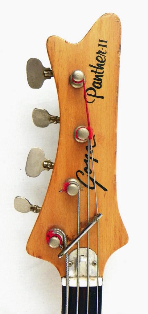 Goya Panther Bass. Goyapa17