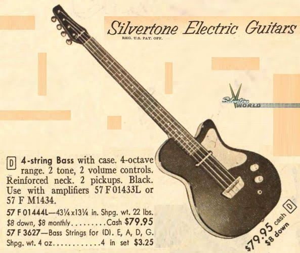 Danelectro Silvertone 1444. Image120