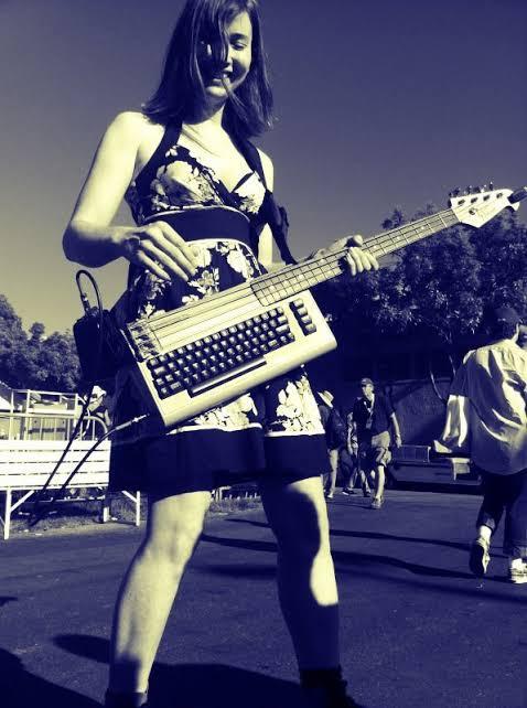 C64 Bass Guitar. Image154