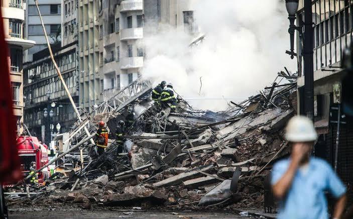 Incêndio e desabamento do edifício abandonado Wilton Paes de Almeida (SP) completa um ano. Images29