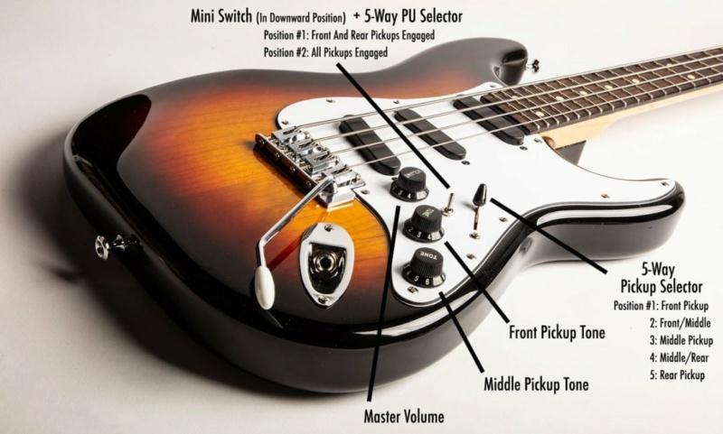 Oneonta Stanley Clarke Spellcaster Bass. Spellc14