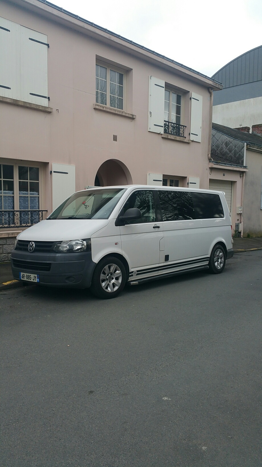 [VENDU] TRANSPORTER VW T5 AMENAGE KAPAM (H1 L2) 6 pl CG 20180410
