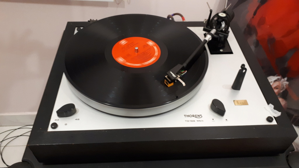 Thorens TD166 Mk2 turntable (Used) 20181010