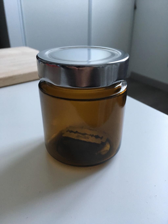 Petit bocal pour lames usagées Img_2410
