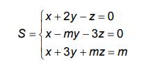 Sistemas lineares - AFA 112