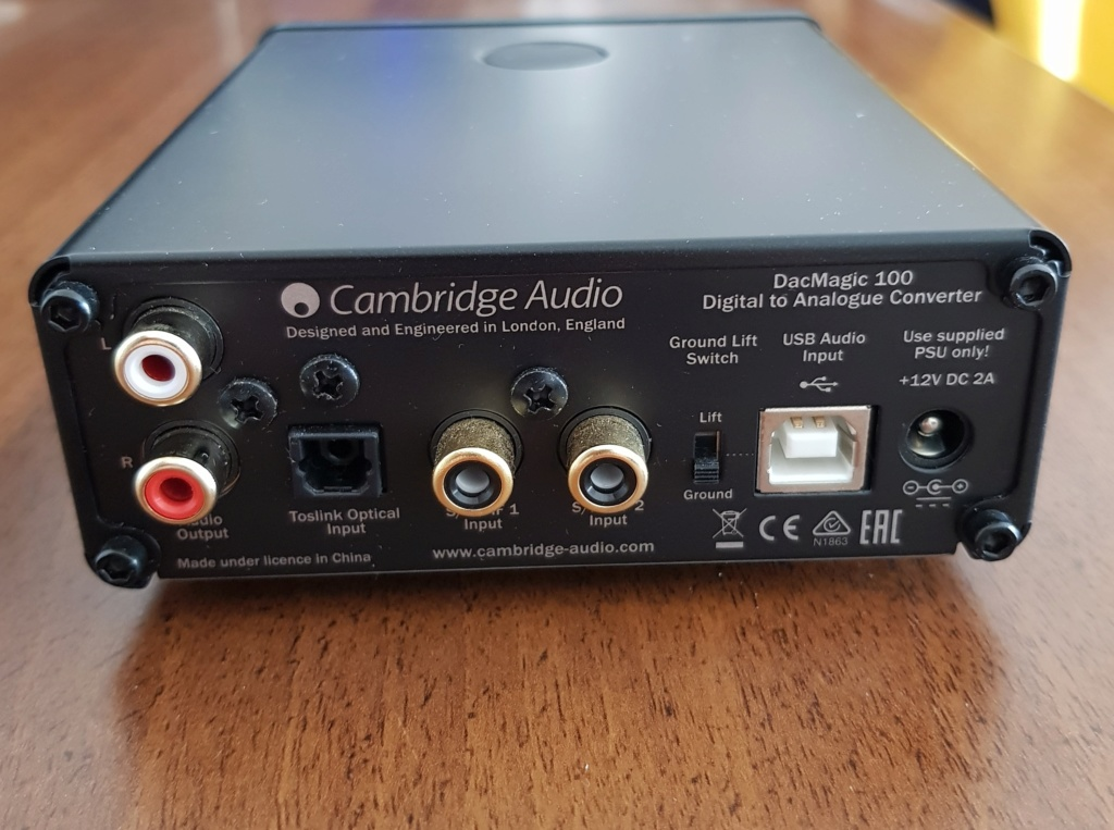 [TA+SS] Cambridge DAC Magic100 20190415