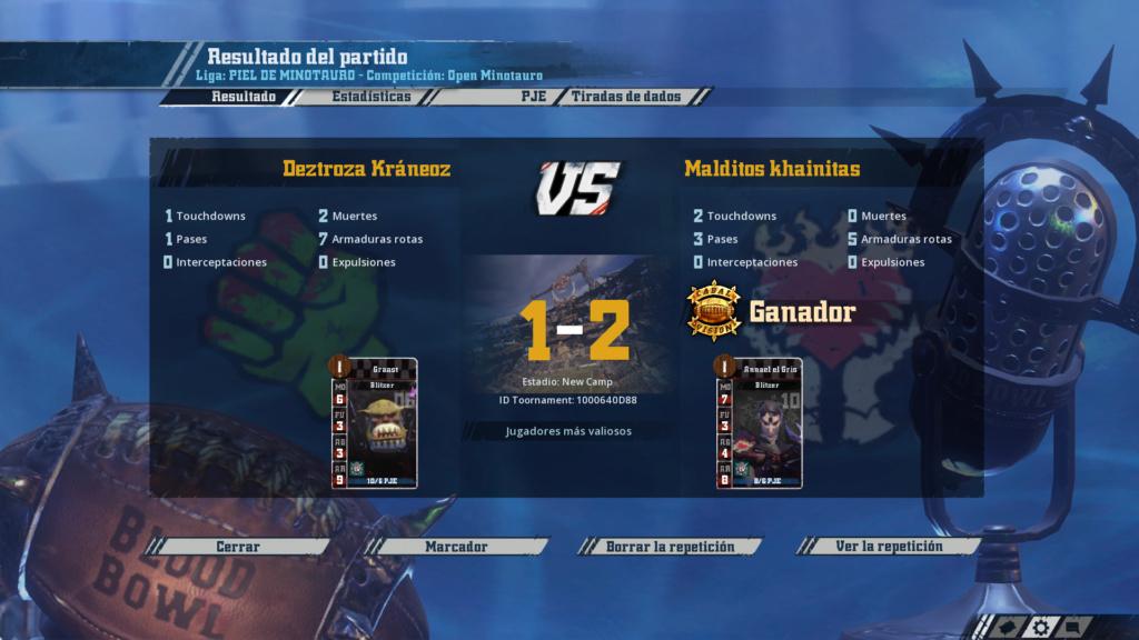 Open Minotauro Verano 2019 - Retos e Informes de partidos Xxx10