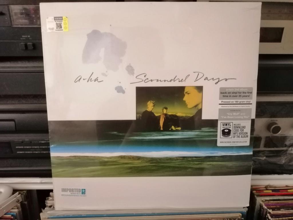 A-ha/Scoundrel days Vinyl (New/Sealed) RM 70 Img_2013