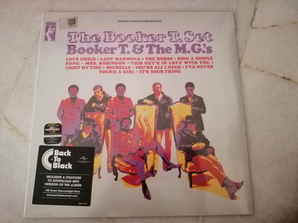 Booker T. & The M.G.'s/The Booker T. Set (New/Sealed) RM 70 Img_2018