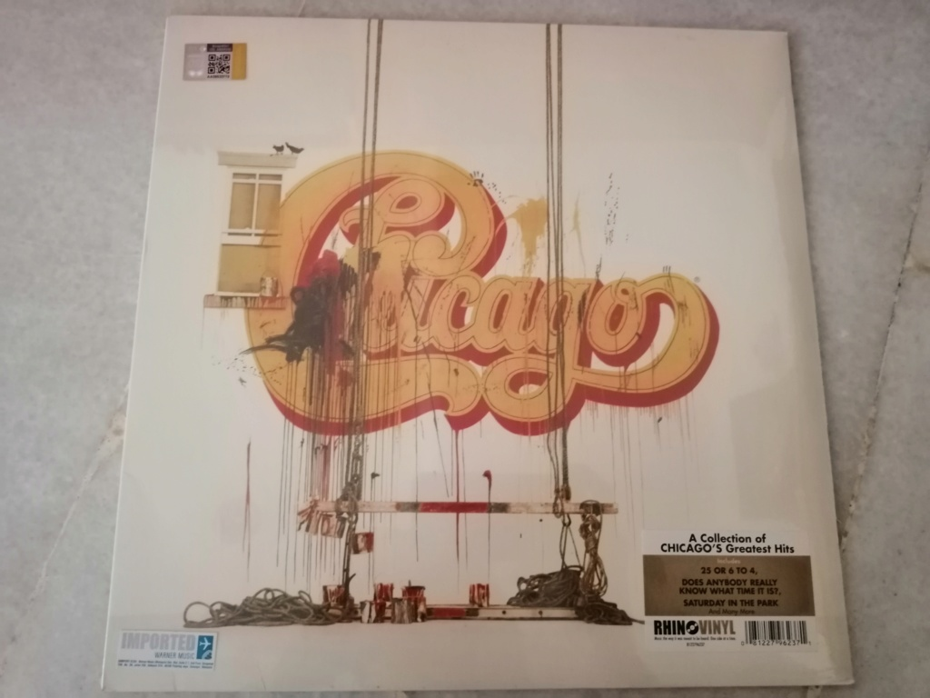 Chicago/Chicago Greatest Hits (New/Sealed) RM 70 Img_2022