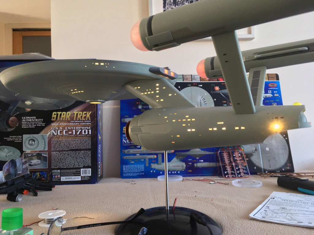 [POLAR LIGHTS] 50em anniversary edition / USS Enterprise NCC 1701 St8010