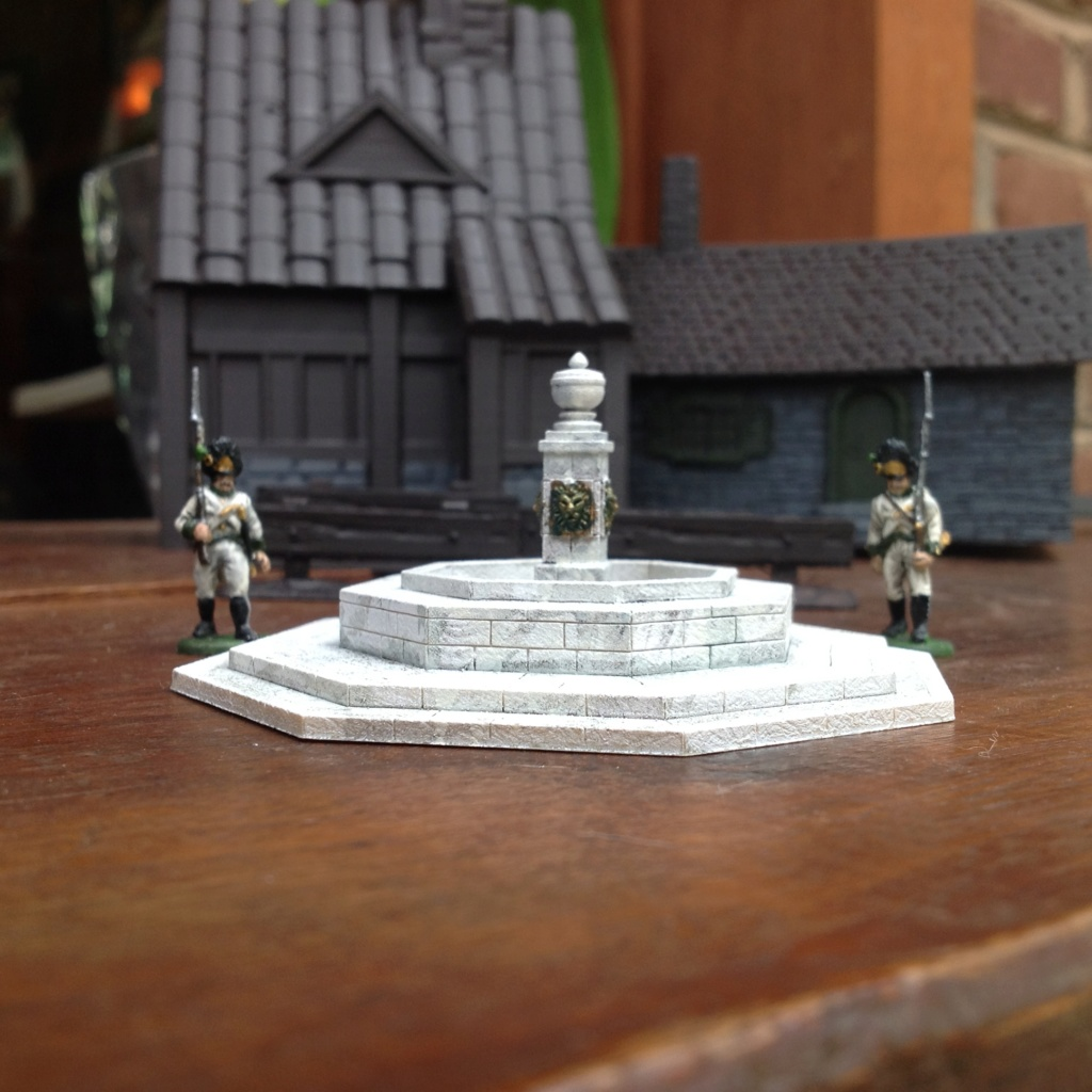 Ender Toys village bundle and fountain by Armand P Bayardi Img_0111