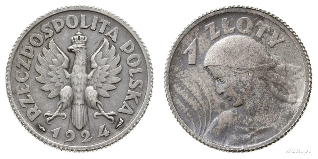 La mujer en la Moneda Polaca 8134910