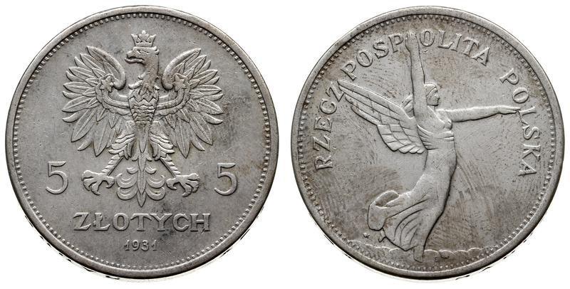 La mujer en la Moneda Polaca Coin-i10