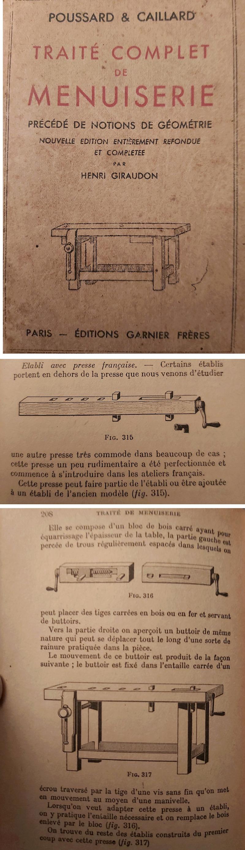 Les presses arrières ou presses de bout - Page 2 Poussa10