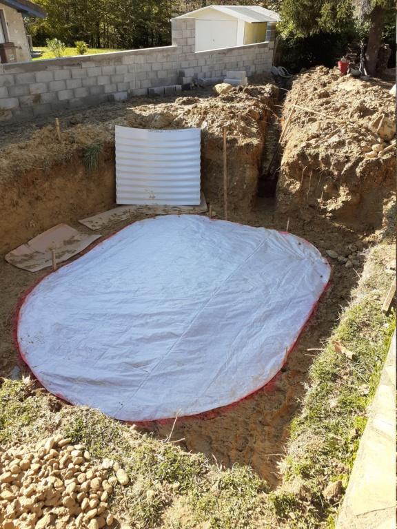 Commencement projet mini piscine LOLA 20201013