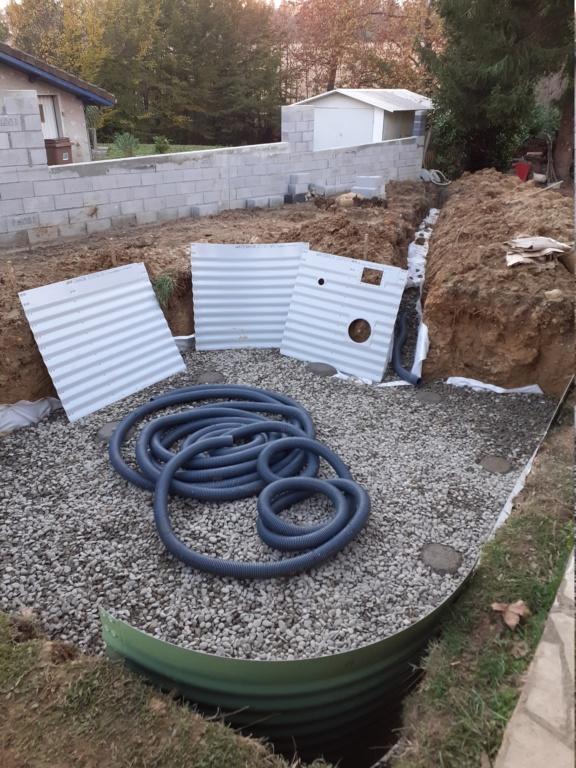 Commencement projet mini piscine LOLA 20201014