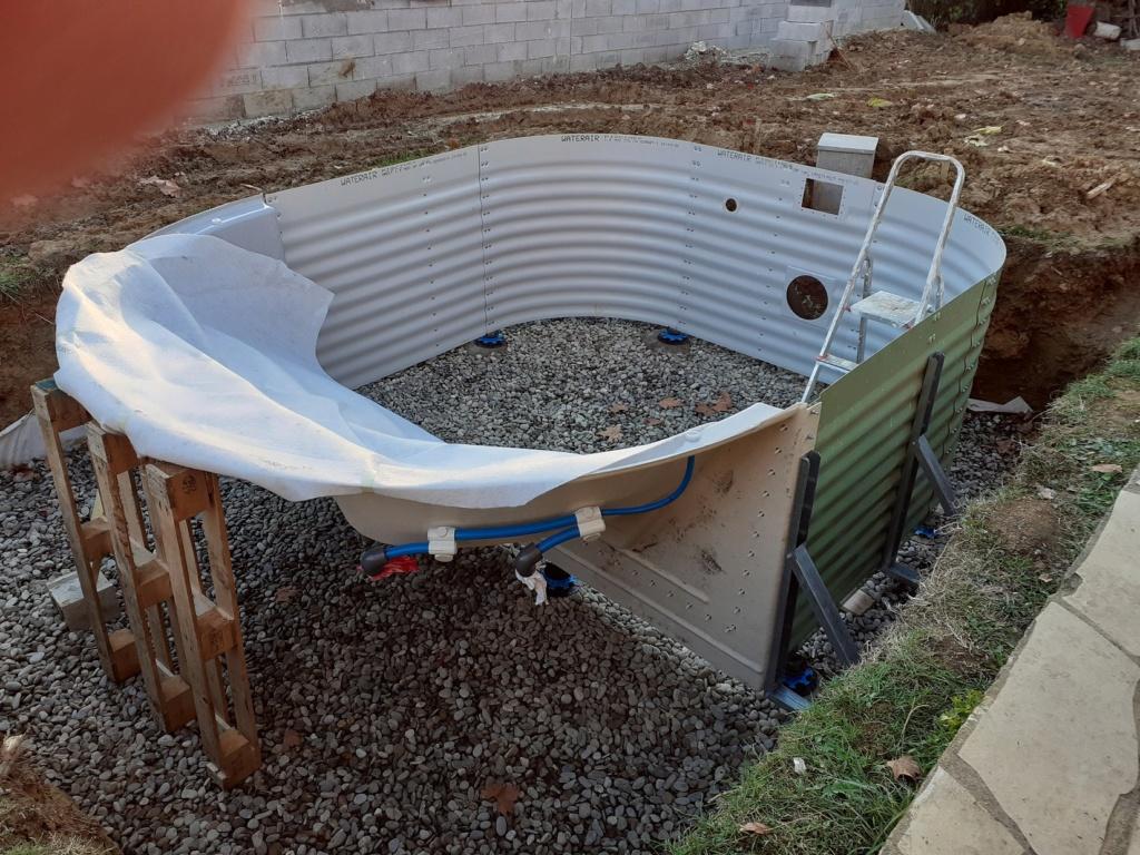 Commencement projet mini piscine LOLA 20201110