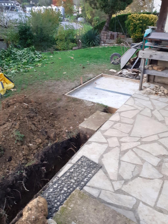 Commencement projet mini piscine LOLA Piscin11