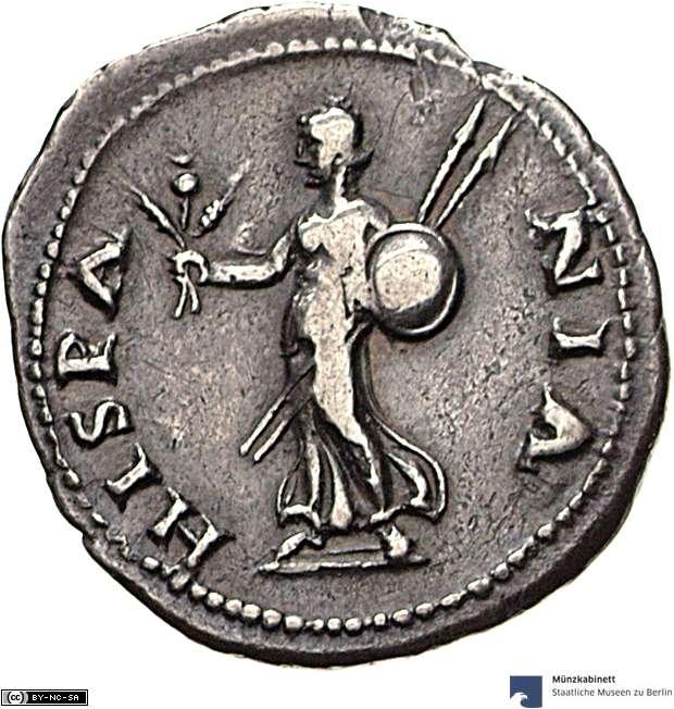 Como se la ceca de un denario? Roma210
