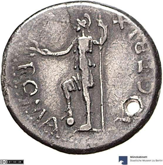 Como se la ceca de un denario? Tar210