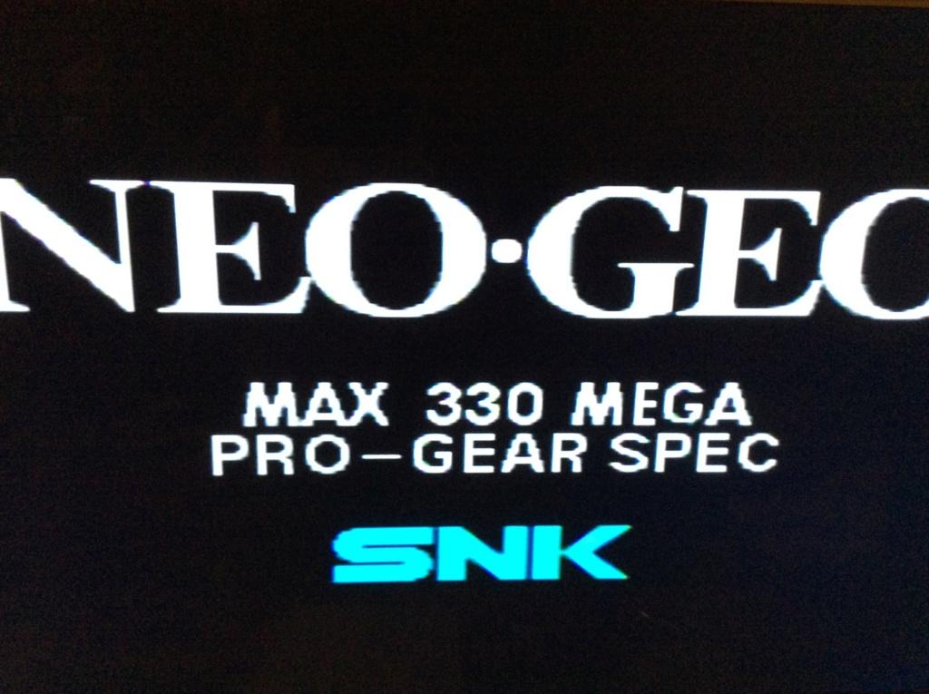 Neo-Geo aes malade qui sort une image en rca mais pas en rgb  63532410