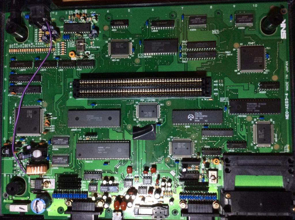 Neo-Geo aes malade qui sort une image en rca mais pas en rgb  75389910