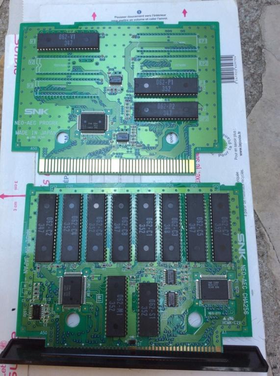 Photos pcb et étiquette cartouche Spinmaster us aes  836cec10