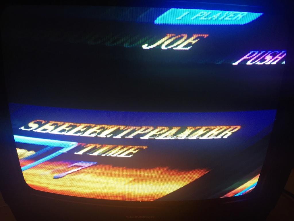 Neo-Geo aes malade qui sort une image en rca mais pas en rgb  91c54510