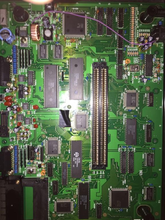 Néo-Géo aes problème image zigzag  Bf43a710
